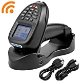 TroheStar Barcode Scanner Wireless and Collector Portable Data Terminal Bar Code Reader PDT with TFT Color LCD Screen & USB Cradle Receiver Charging Base