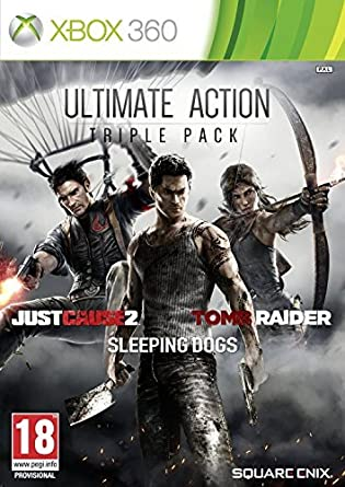 Ultimate Action Triple Pack - Just Cause 2/Sleeping Dogs/Tomb ...
