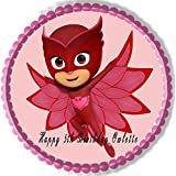 PJ MASKS Owlette (4) - Edible Cake Topper - 7.5