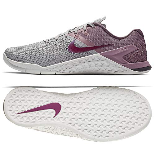 Nike Women's Metcon 4 XD Training Shoe Atmosphere Grey/True Berry/Plum