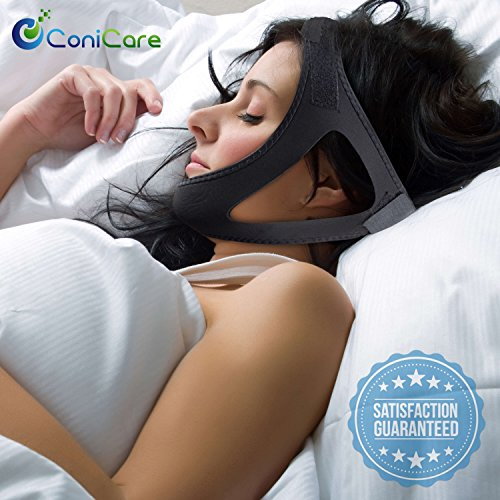 New-Anti-Snoring-Chin-Strap-Solution-Snore-Stopper-Guard-Instant-Relief-Natural-and-Comfortable-Aids-With-Snoring-CPAP-Devices-with-Adjustable-Straps-for-Men-And-Women-4-Silicone-Nose-Vents