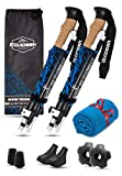 Best Hiking Poles - Collapsible Folding Hiking & Trekking Sticks - 2 Review