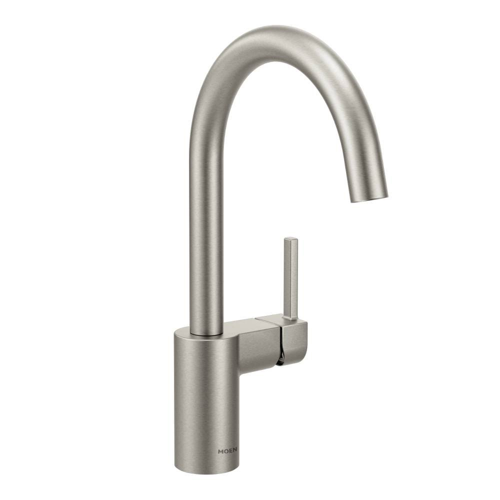 Moen Moen 7365SRS Align one-handle high arc kitchen faucet, Spot Resist Stainless