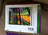 College Algebra in Context, Books a la Carte Edition, Harshbarger, Ronald J. and Yocco, Lisa, 0321783905