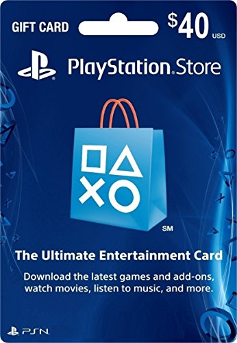 $40 PlayStation Store Gift Card -