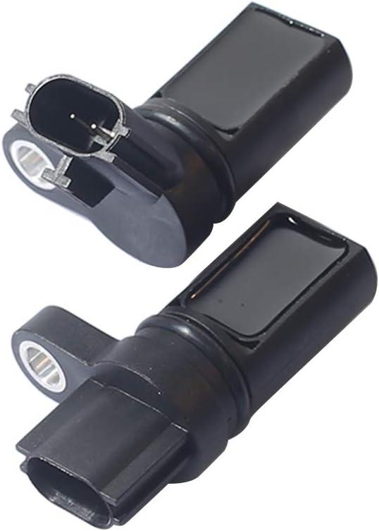 23731-AL61A Fits Infiniti FX35 G35 I35 M35 Nissan 350Z Altima Frontier Maxima Murano NV1500 NV2500 Pathfinder Quest Xterra 2Pcs Camshaft Crankshaft Position CPS Sensor Kit 23731-6J90B