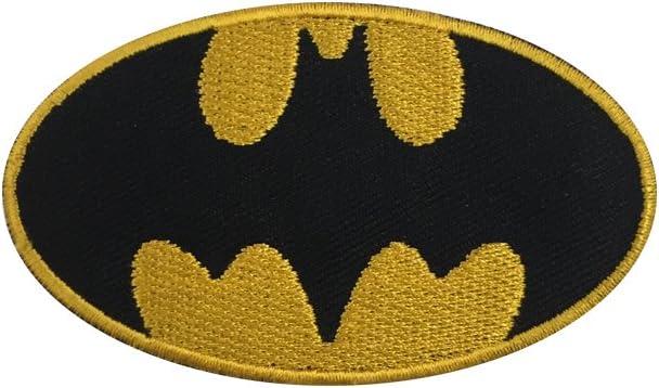 Parche bordado con el logo de Batman, fácil de coser o planchar: Amazon.es: Hogar