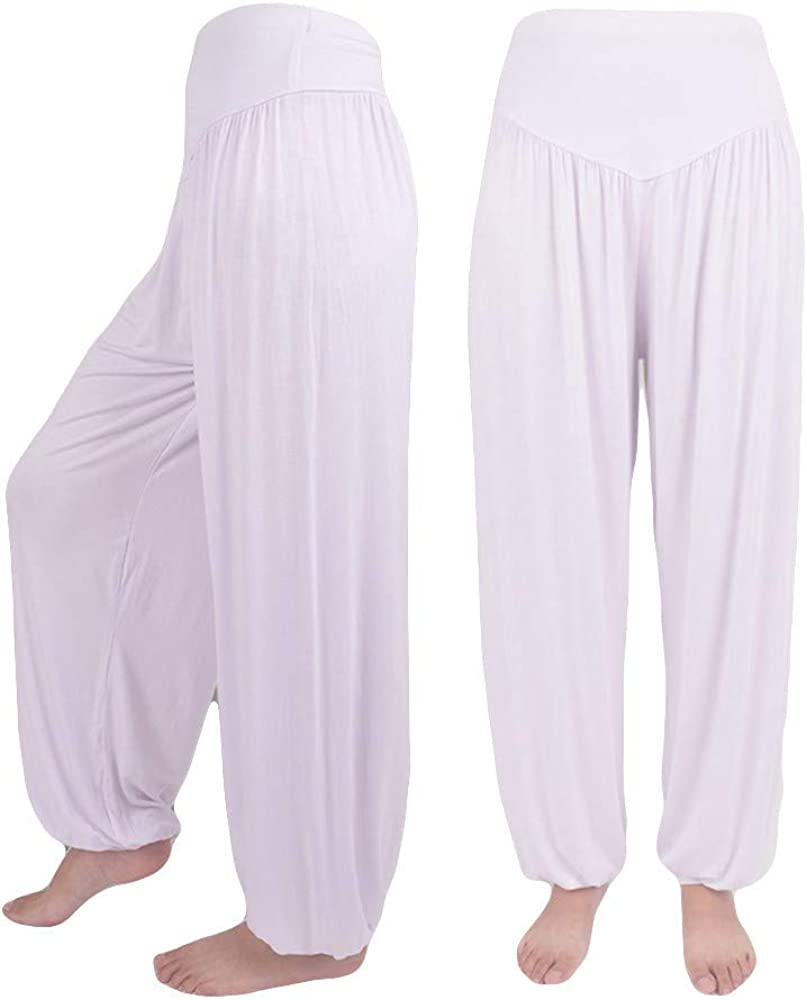 ORANDESIGNE Nouvelle Mode Femme Pantalons Doux Pantalon Harem Yoga Pants Sportswear Danse Casual Pantalon Bas De Pyjama Pantalon Jogging