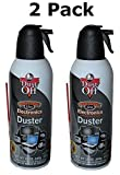 Falcon Dust-Off Professional Electronics Compressed Air Duster, 12 Oz (2 Pack)