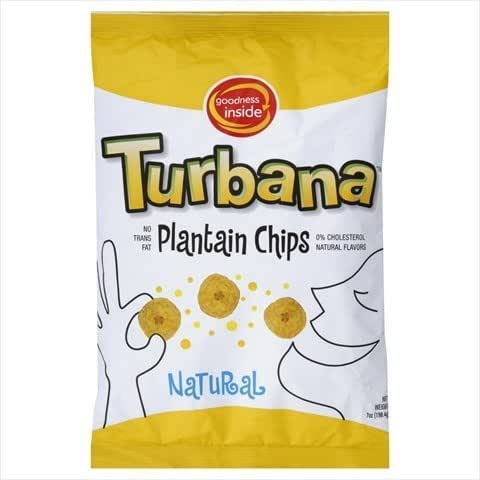 Veggie & Grain Chips: Turbana Plantain Chips