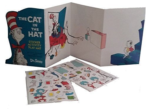 Dr. Seuss The Cat in the Hat Sticker activity play sheet