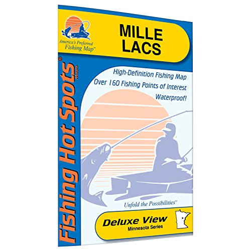 Mille Lacs Fishing Map