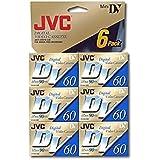 JVC Mini Digital Video Cassette MDV60ME6HT (6pk)