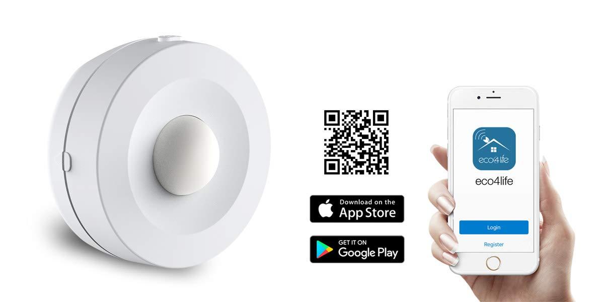 ECO4LIFE Smart Home Automation System Motion Sensor