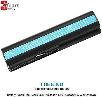 NB 484170-001 Batería del ordenador portátil para HP Pavilion dv4-1000 dv5-1000 dv4-2000, Compaq Presario CQ45 CQ50 CQ60 G50 G60 G70, P/N: HSTNN-LB72 ...