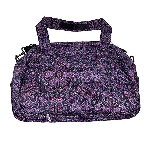 LeSportsac City Abbey Carryon (Purple Medallion) ()