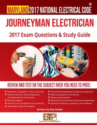 Maryland 2017 Journeyman Electrician Study Guide