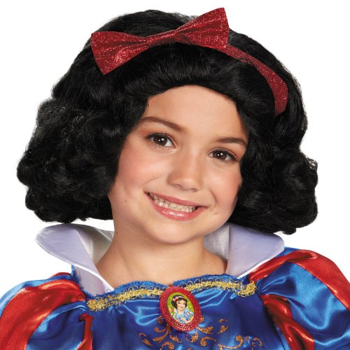 Snow White Kids Wig (Snow White Wig Child)