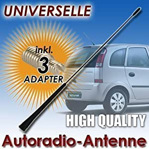 Antena de Barra 40 cm Universal OPEL / Meriva / Astra / Corsa / - Sustitución de Antena de Coche FM/AM