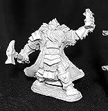 Thain Grimthorn Dwarf Cleric Reaper Miniatures