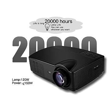 Proyector De Video HD Proyector Portátil De Cine En Casa Soporte ...