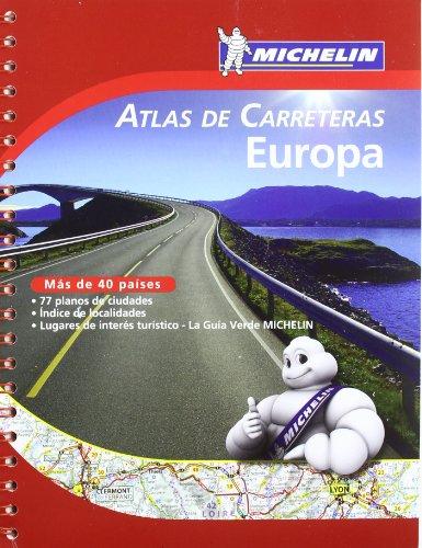 Atlas De Carreteras Europa. A4