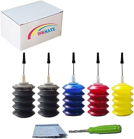 Amazon.com: INKMATE - Kit de recambio para cartucho de tinta ...