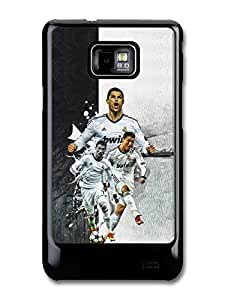 Cristiano Ronaldo Collage Real Madrid Football case for Samsung Galaxy S2 A258 by runtopwell