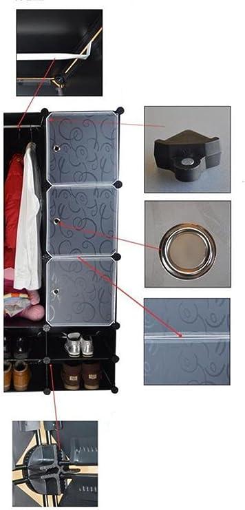 Armarios de almacenamiento DIY Gabinete simple de la armadura de ...