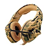Camouflage PS4 Headset Bass Gaming Headphone Game Earphone Casque with Mic for PC
