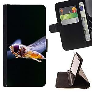 BullDog Case - FOR/Apple Iphone 5C / - / Plant Nature Forrest Flower 70 /- Monedero de cuero de la PU Llevar cubierta de la caja con el ID Credit Card Slots Flip funda de cuer