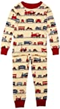 Hatley Little Boys' Pajama Set, Trains, 5