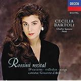 Cecilia Bartoli - Rossini Recital ‾ 19 Songs & Cantata: Giovanna d'Arco