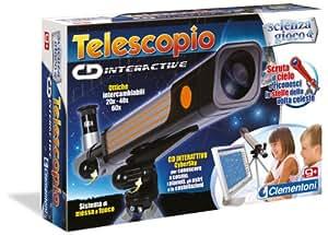 Clementoni 12710 juguete y kit de ciencia para niños - juguetes y kits de ciencia para niños (Astronomía, Cualquier género, Multi, Cybersky CD)
