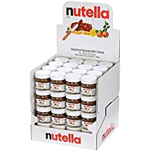 Nutella Hazelnut Spread with Cocoa Glass Jar, .88 Ounce -- 64 per case.