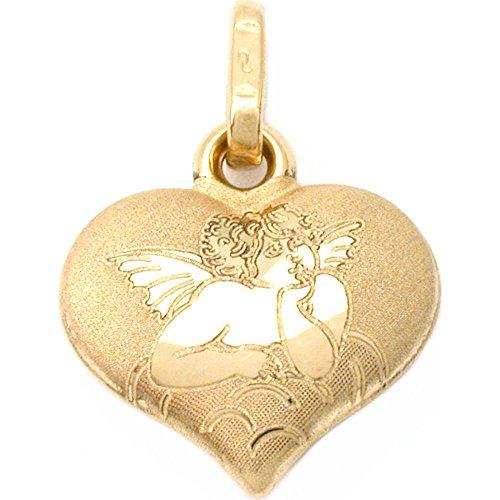 Gold Angel Italian Charm - 7
