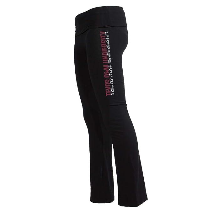 Amazon.com: Pantalones de yoga oficiales de NCAA Texas A&M ...