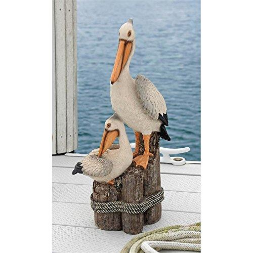 Design Toscano Ocean's Perch Pelican Statue from Design Toscano