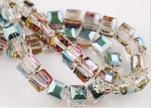 Crystal Cube Beads - HYBEADS 50PCS Austria #5601 6mm crystal cube beads (72-84-6)