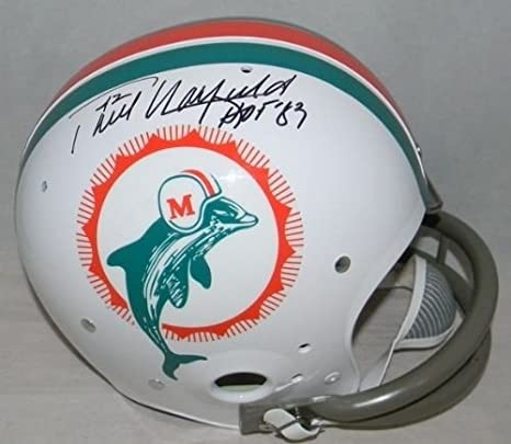 43a22b16e Amazon.com  Paul Warfield Signed Miami Dolphins Full Size Tk Throwback  Helmet + Hof 83  Sports Collectibles