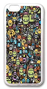 ACESR Animal Dolls Protective iphone 5s Cases, TPU Case for Apple iphone 5s (iphone 5sinch) Transparent