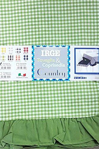 Russo Tessuti Coppia 2 Coprisedie Cuscini Coordinato Vari ...