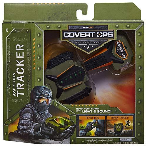 Covert Gear Spy (SpyNet Covert Ops Recon Tracker, Green 80073)