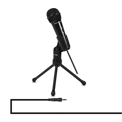 Amazon com: MIKE-ZY Condenser Microphone 3 5Mm with Tripod