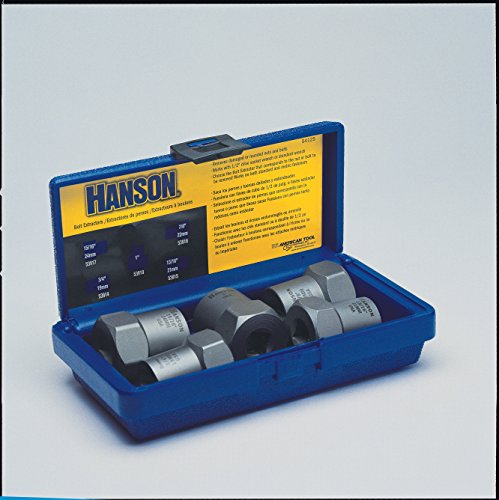 IRWIN HANSON Lugnut Specialty Extractor Set, 5 Piece, 54125