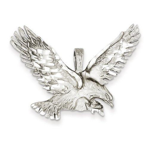 Poli Pendentif Aigle De Taille Diamant De Icecarats Créatrice De Bijoux 14K