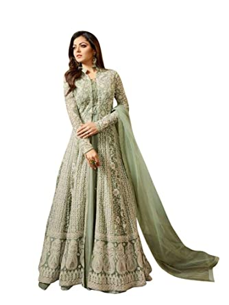 9e9a55c9ff6 Women s Anarkali Salwar Kameez Designer Indian Dress Ethnic Party  Embroidered Gown at Amazon Women s Clothing store