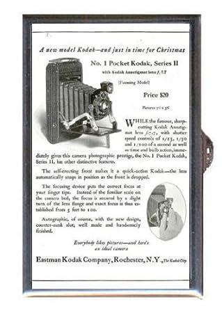Amazon.com: Cámara 1922 no. 1 bolsillo Kodak, Series II púa ...