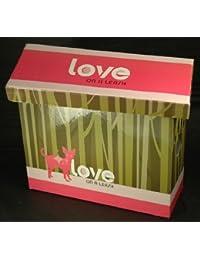 Love On A Leash Puppy Dog Handbag Purse Gift Box
