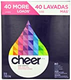 Cheer Laundry Detergent Cheer Powder Detergent Fresh Clean Scent 80 Loads 112 Oz